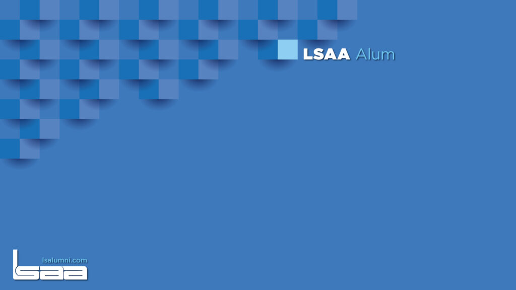 LSAA Alumni Video Conference Background